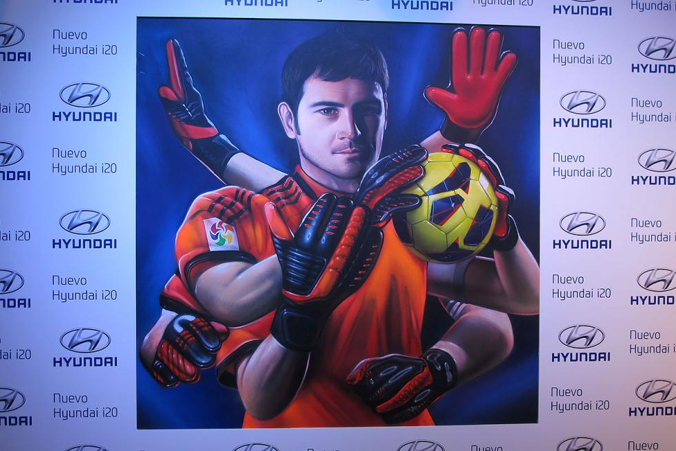 Graffiti de Iker Casillas por Spok