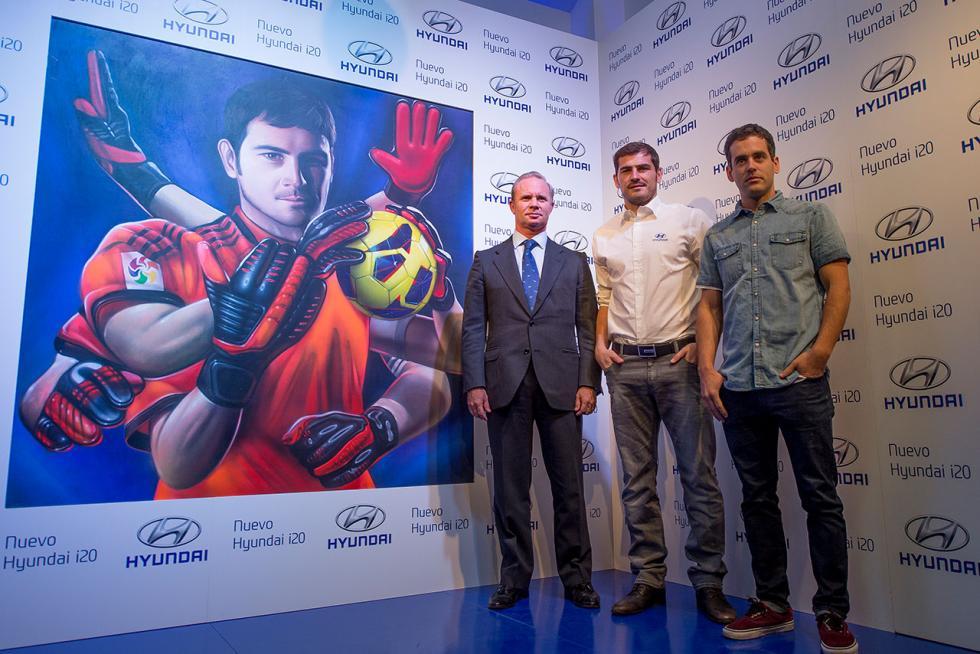Polo Satrústegui, Iker Casillas y Spok.
