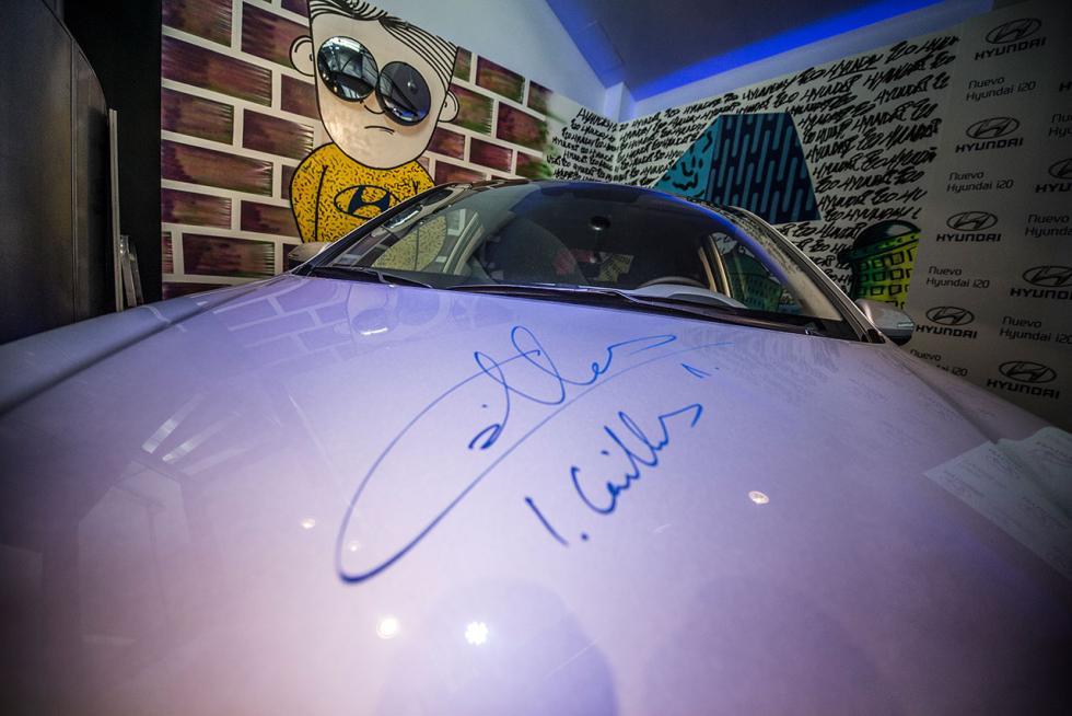 Iker firma en el Hyundai i20