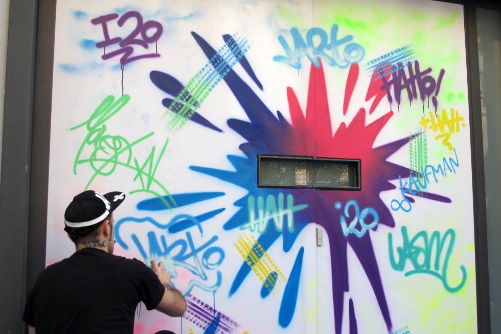 Obra de arte urbano del concurso InspirArt