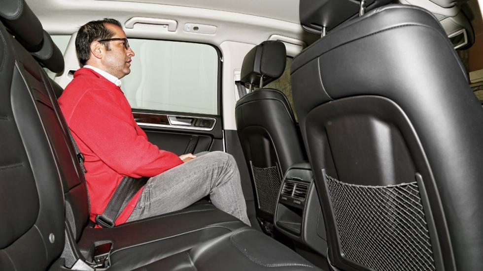 Volkswagen Touareg Hybrid plazas traseras
