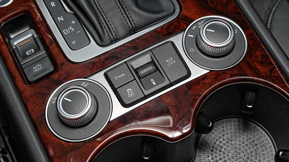 Volkswagen Touareg Hybrid botones