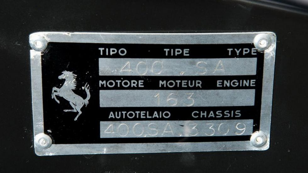 Ferrari 400 Superamerica SWB Cabriolet chasis