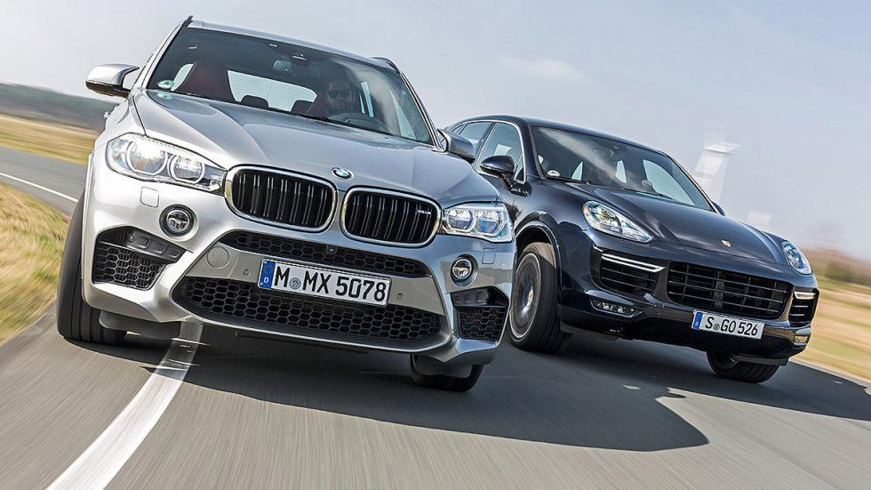 BMW X5 M vs. Porsche Cayenne Turbo S