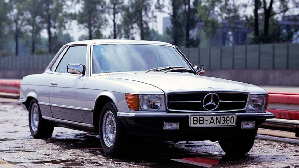 Mercedes SLC delantera