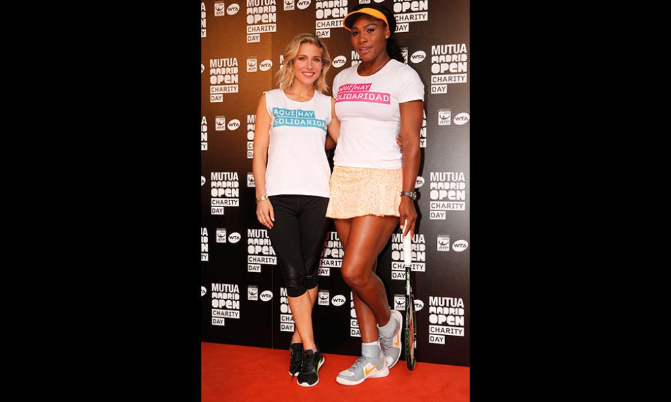 Elsa Pataky y Serena Williams