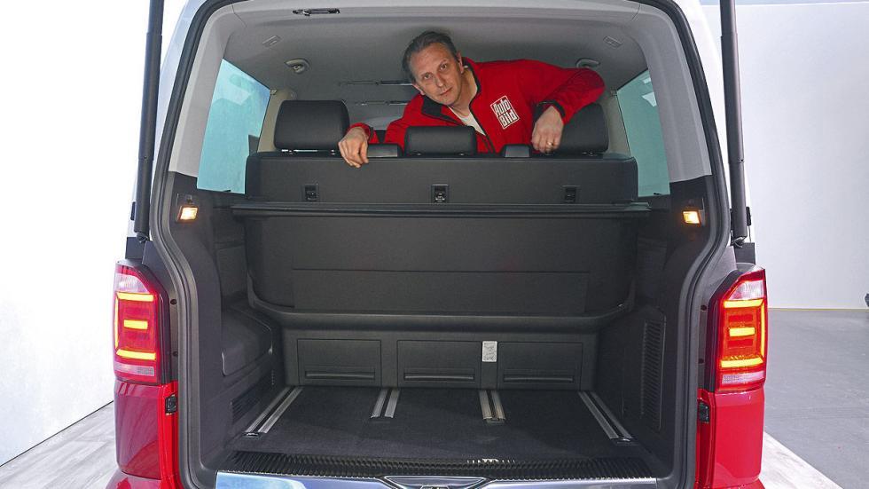 Volkswagen T6 luces interior maletero