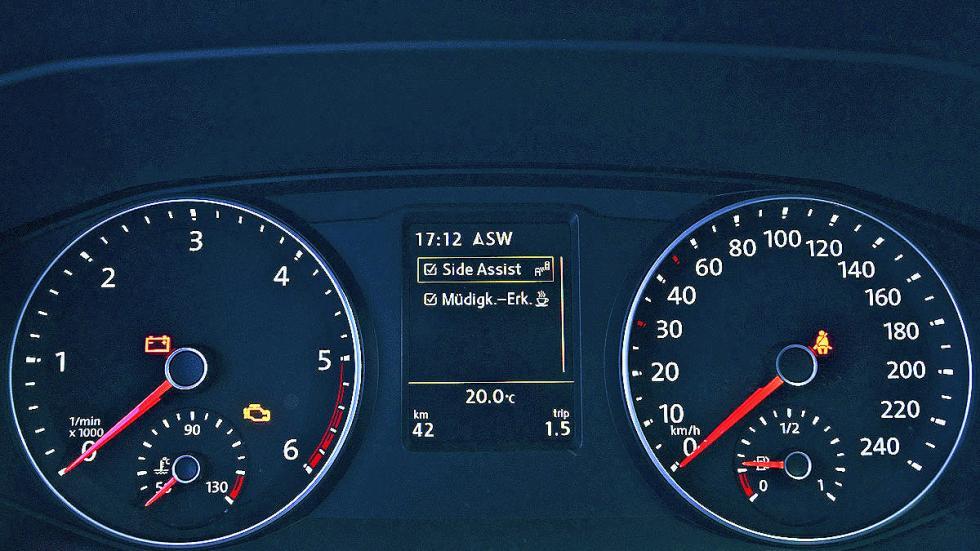 Volkswagen T6 luces interior relojes