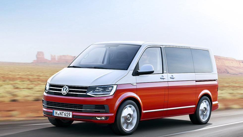 Volkswagen T6 luces dinamica exterior
