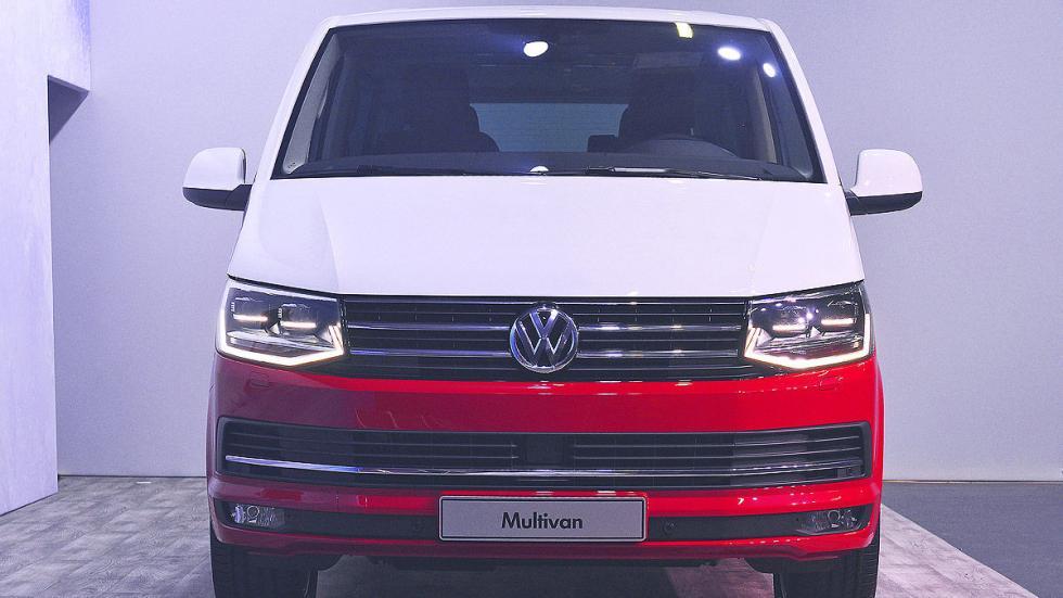 Volkswagen T6 luces morro
