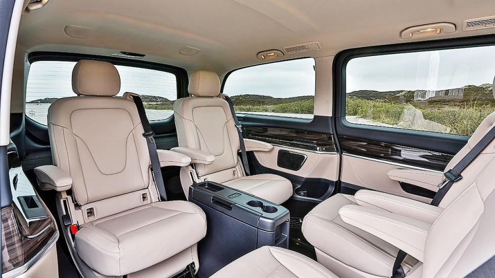 Mercedes Clase V asientos interior traseros
