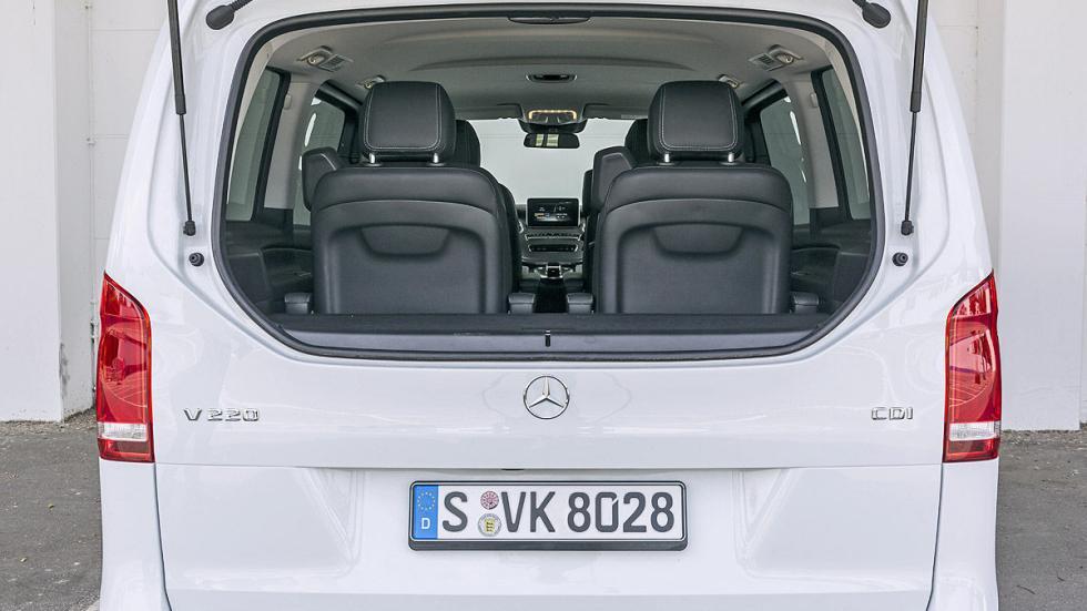 Mercedes Clase V luna maletero