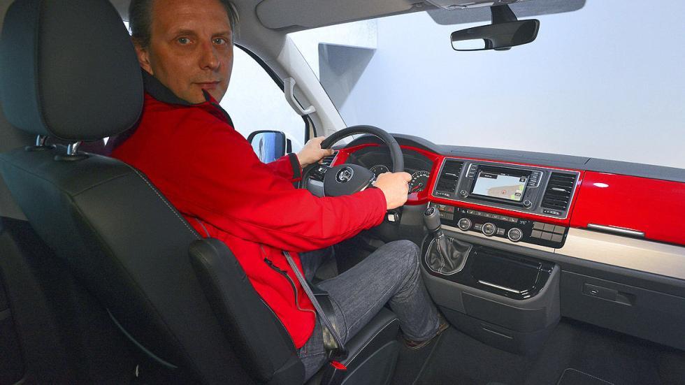 Volkswagen T6 luces interior al volante