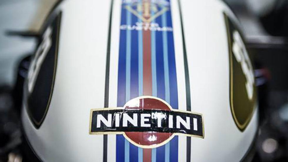 Vista de la decoración de la VTR Ninetini