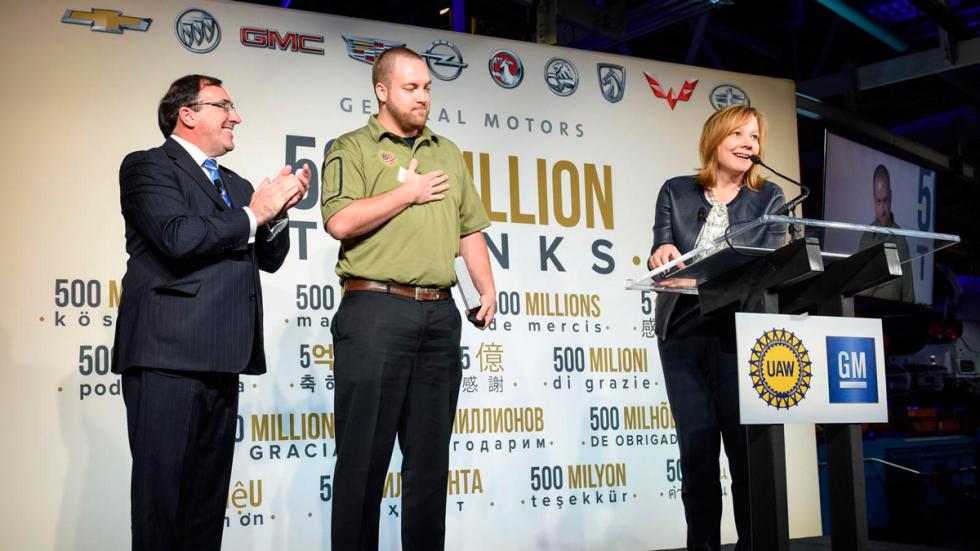 General Motors entrega