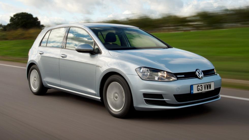 Volkswagen Golf 1.6 TDI  BlueMotion tres cuartos delantero