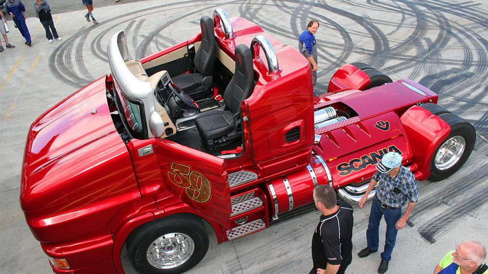 Svempa Scania Red Pearl