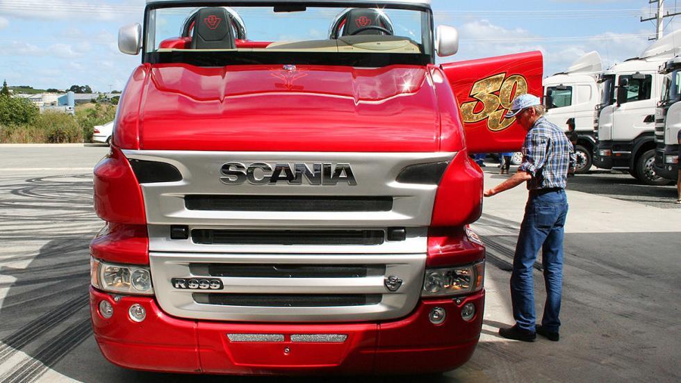 Svempa Scania Red Pearl puerta