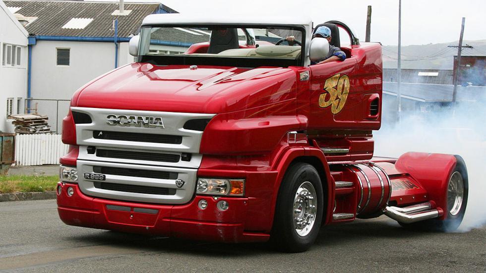 Svempa Scania Red Pearl dinámica