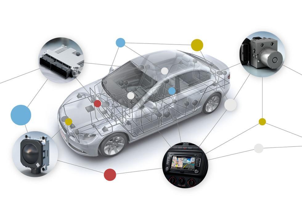 Bosch trabaja en el coche conectado y la movilidad