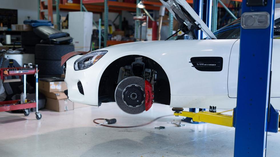Mercedes AMG GT S Vossen