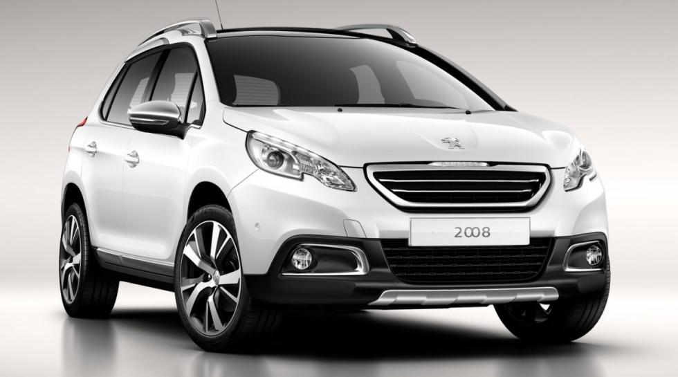 Peugeot 2008 delantera