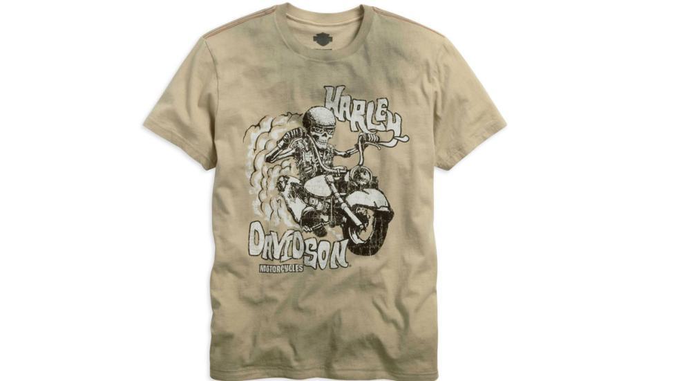 Prints contemporáneos en las camisetas Harley