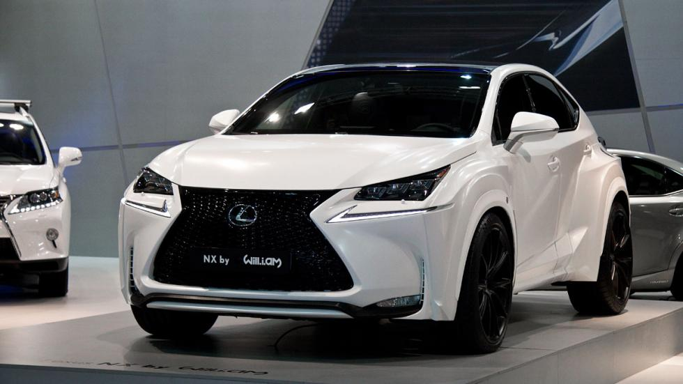 Salón de Barcelona 2015 lexus nx william