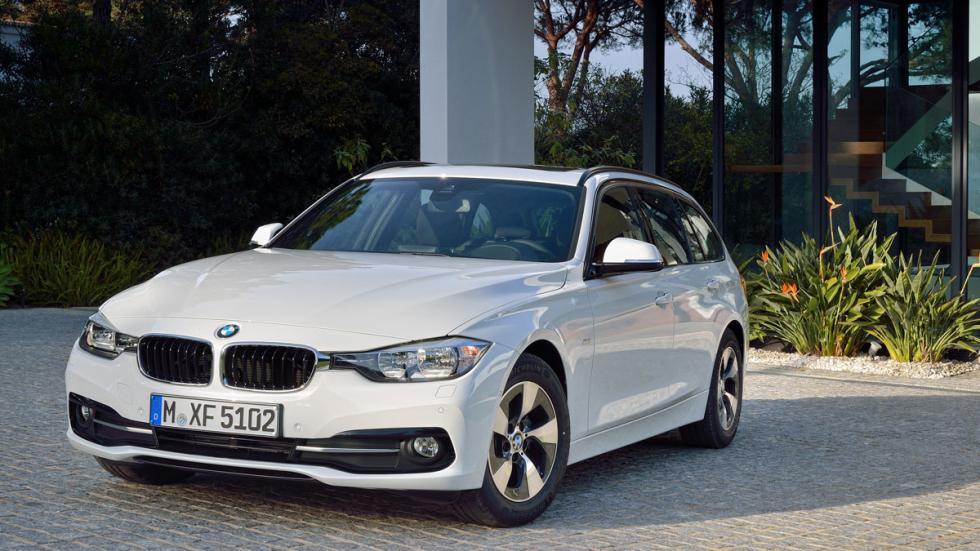 BMW Serie 3 2016 2016 tres cuartos delanteros 2