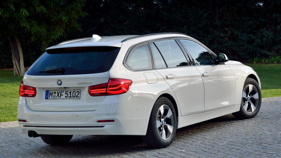 BMW Serie 3 2016 2016 tres cuartos traseros