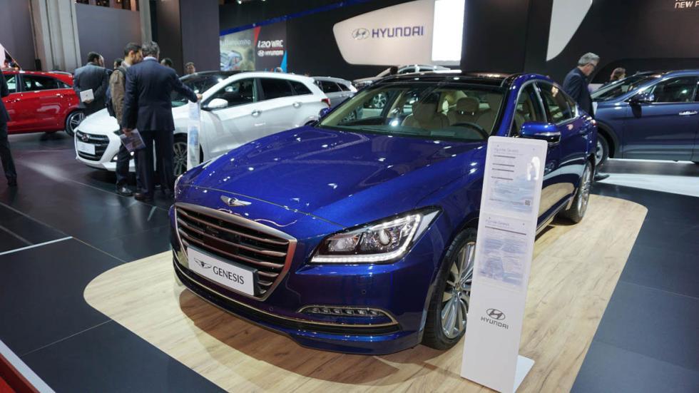 Hyundai Genesis, en el Salón de Barcelona 2015