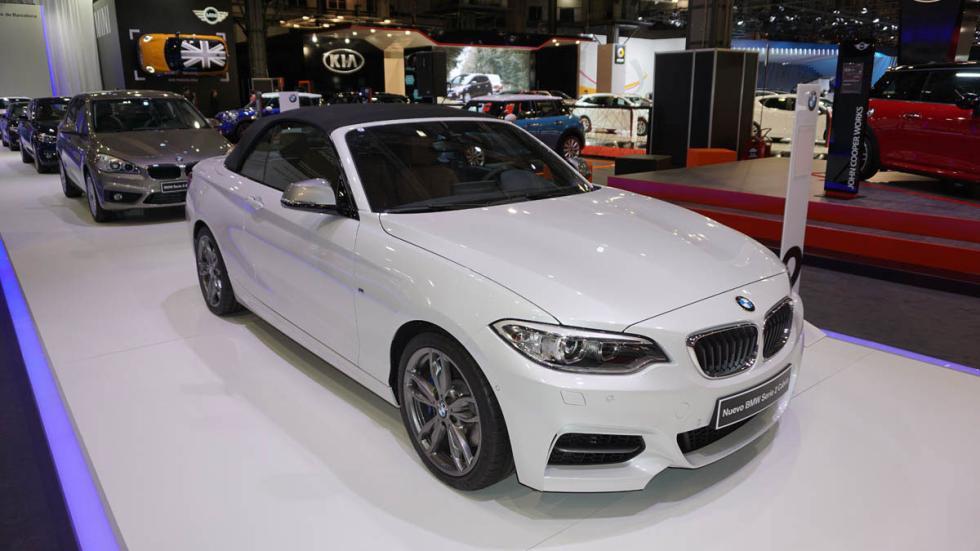Nuevo BMW Serie 2 cabrio, en el Salón de Barcelona 2015