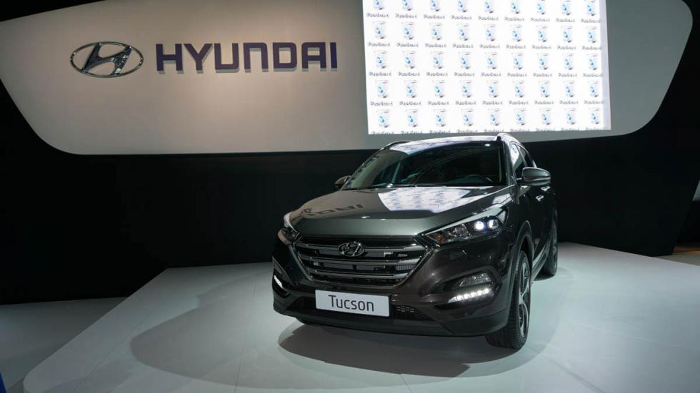 Hyundai Tucson, en el Salón de Barcelona 2015