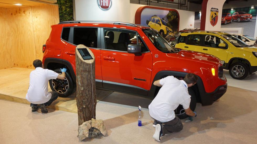 Jeep Renegade, en el Salón de Barcelona 2015