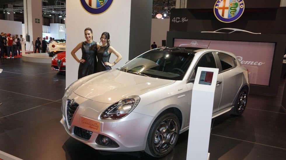 Alfa Romeo Giulietta Sprint, en el Salón de Barcelona 2015