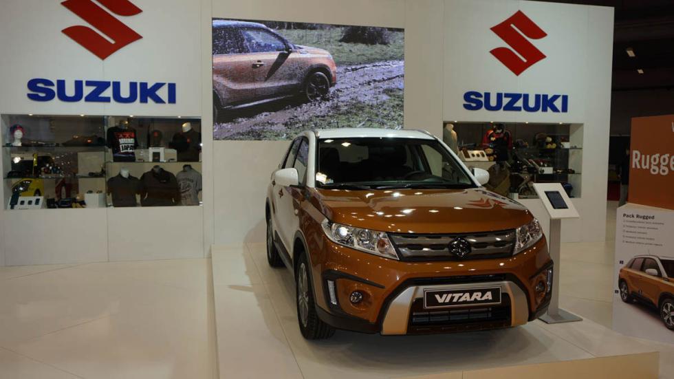Suzuki Vitara, en el Salón de Barcelona 2015