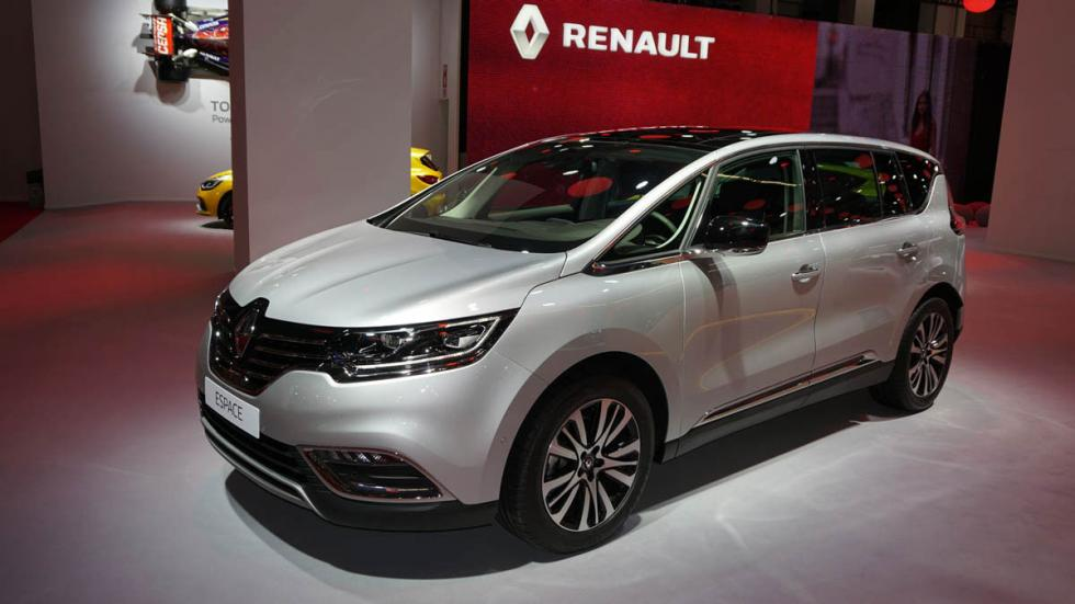 Renault Espace, en el Salón de Barcelona 2015