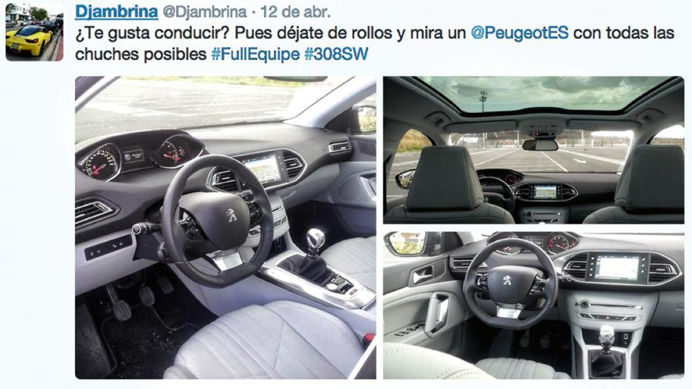 Peugeot 308 SW i-Cockpit conectividad