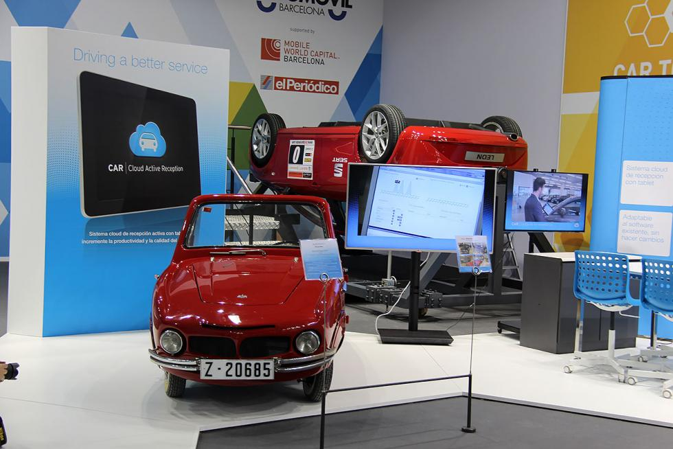 Zona Connected Car del Salón de Barcelona 2015