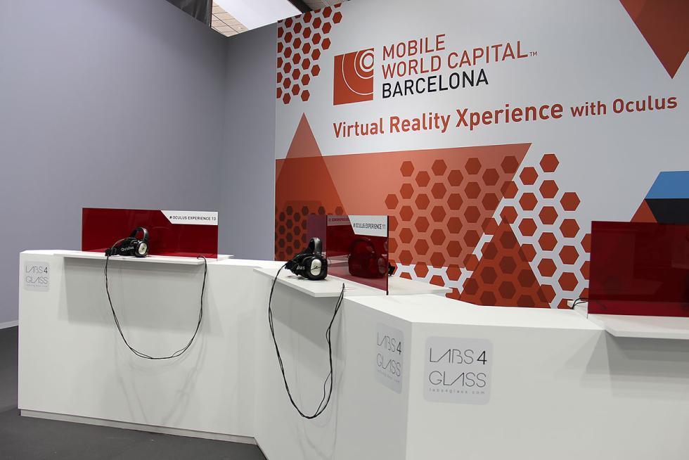 Stand sobre realidad aumentada en el Salón de Barcelona 2015