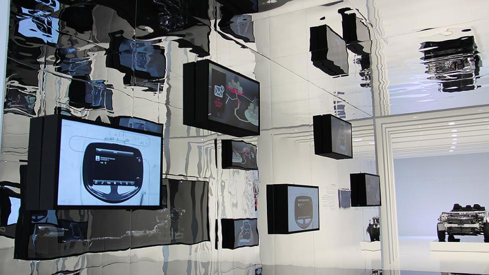 Zona de conectividad del Grupo PSA en el Salón de Barcelona