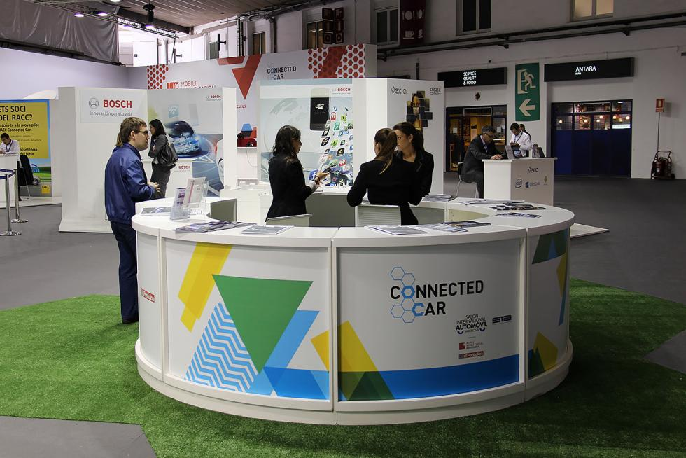Zona Connected Car en el Salón de Barcelona 2015
