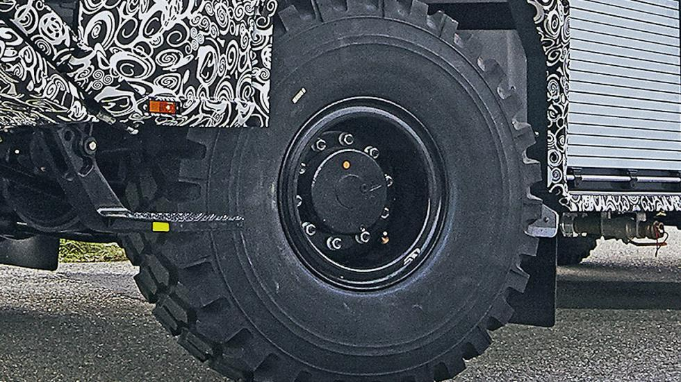 Apagafuegos de Rosenbauer lateral rueda