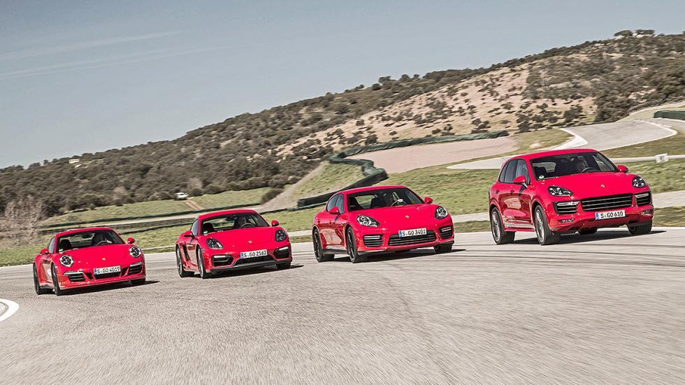 Comparativa GTS: 4 Porsche para soñar