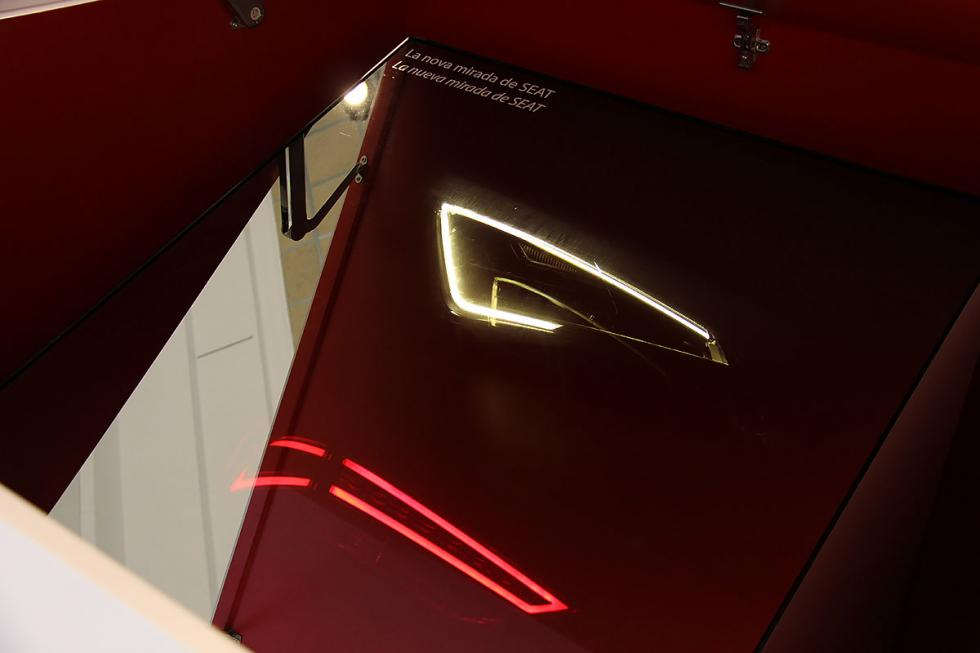 Faros y ópticas en la nueva gama Seat