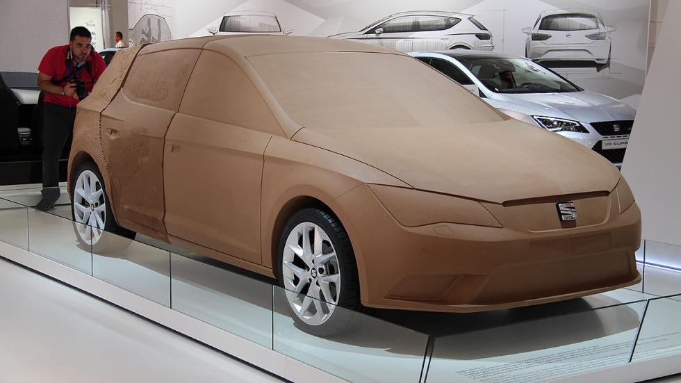 Prototipo en arcilla Seat León