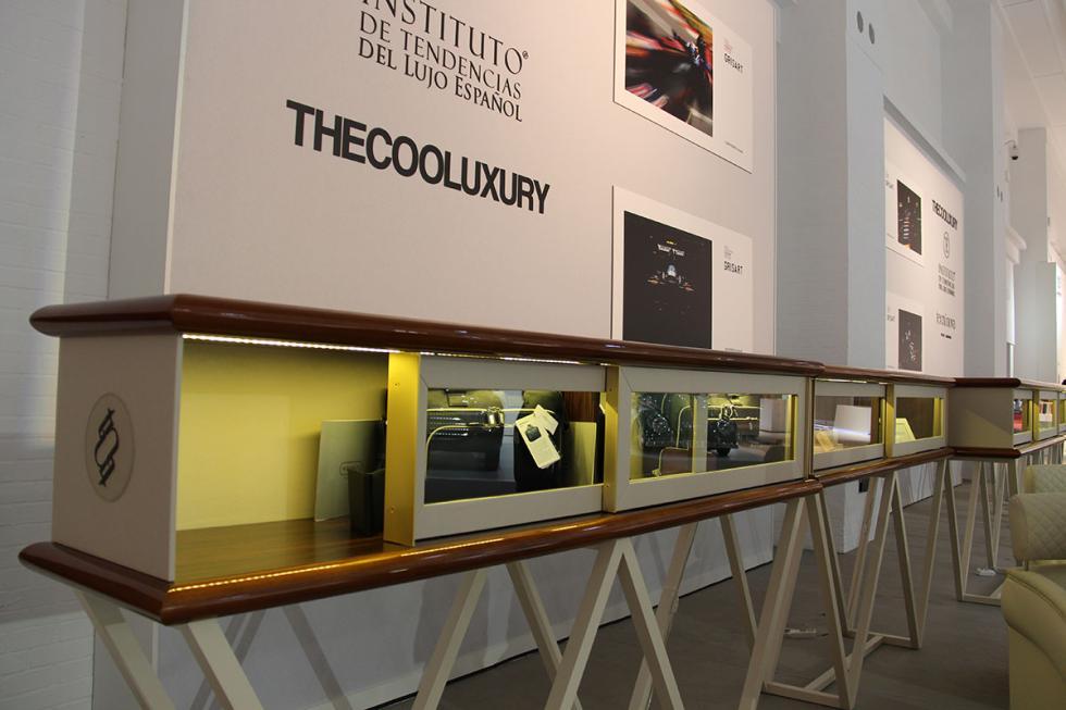 Exposición de accesorios y artículos para conductores en Barcelona