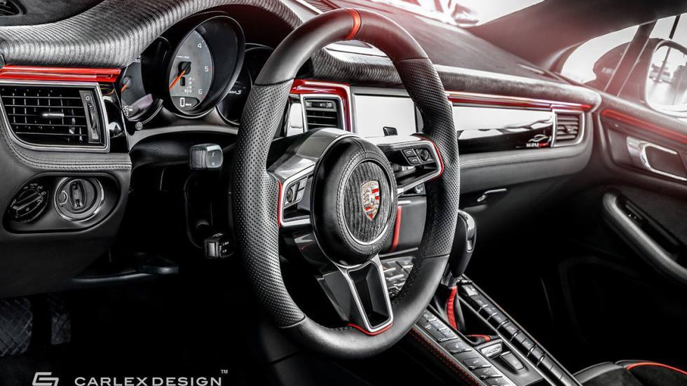 Porsche Macan Carlex volante
