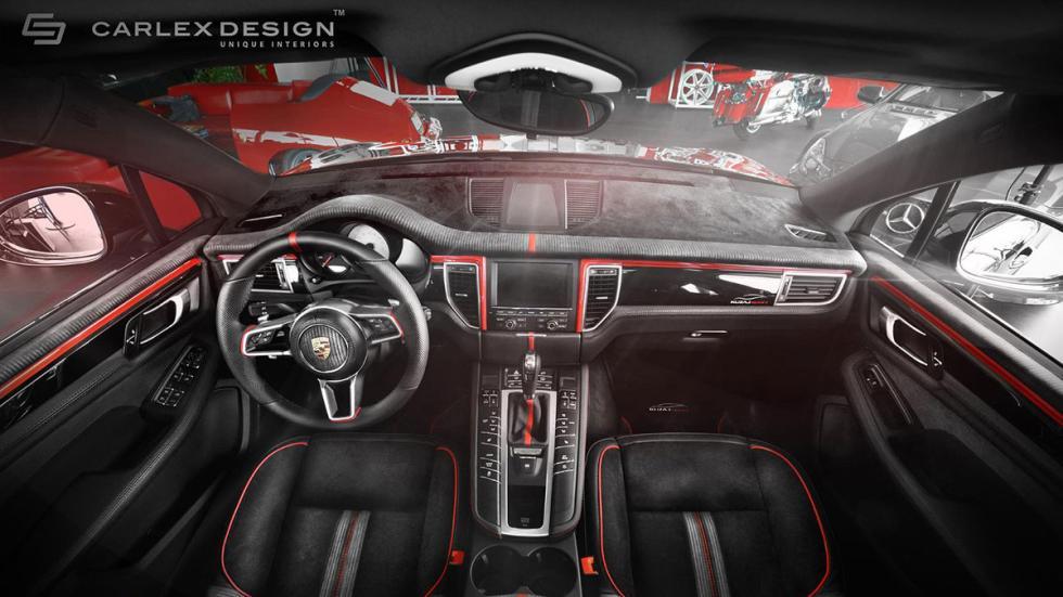 Porsche Macan Carlex interior