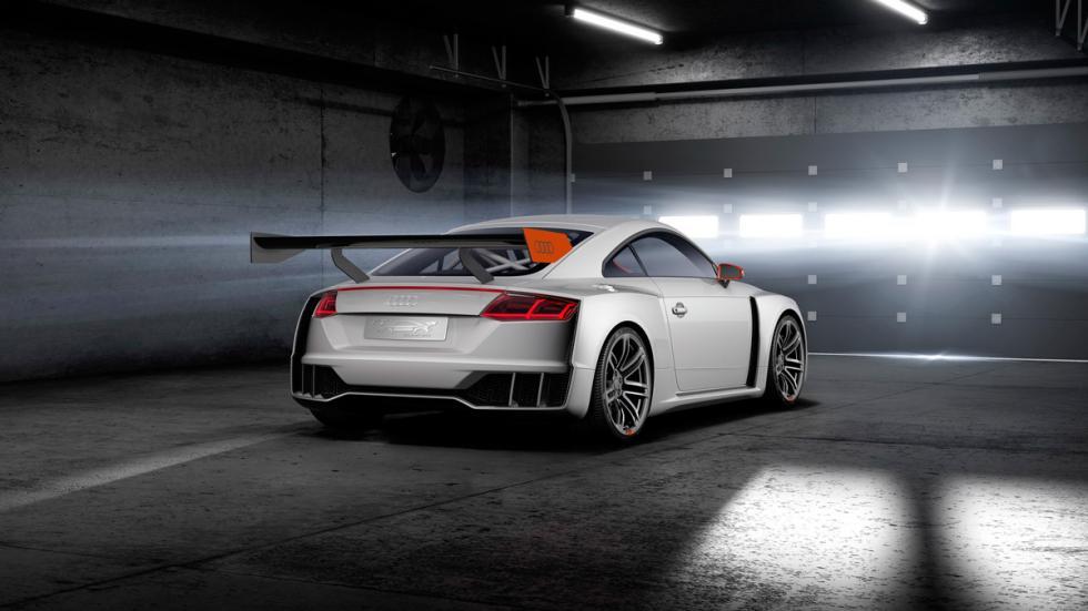 Audi TT Clubsport Turbo trasera